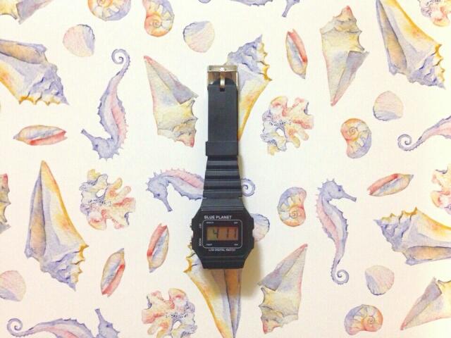 《画像》ダイソーの腕時計